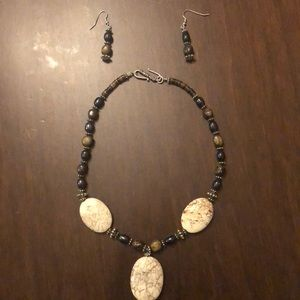 Brighton Jewelry - Brighton Necklace and Earring Set